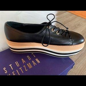 Stuart Weitzman-Activate Strpd Platform Sneakers